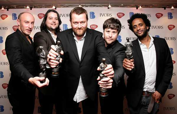 Elbow at the Ivor Awards