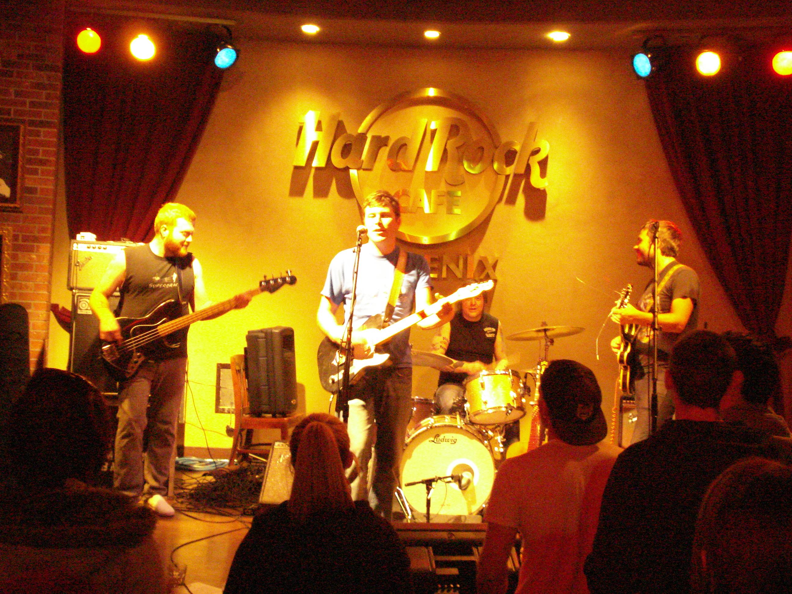 Hard Rock Cafe Phoenix Menu