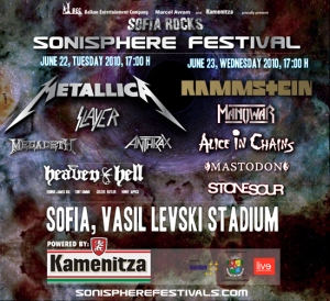 The Big Four at Sonisphere