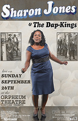 Sharon Jones and the Dap Kings at the Orpheum Theatre 9/26/2010
