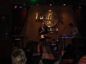 Factories at Hard Rock Cafe 2-12-2011