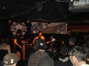 Robot Tank at Rips 1-29-2011