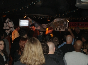 The Father Figures joined onstage for the singing of the AZPX Theme at Rips 1-29-2011