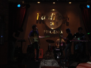 Tugboat at Hard Rock Cafe 2-12-2011