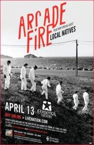 Arcade Fire at Comerica Theatre 4-13-2011