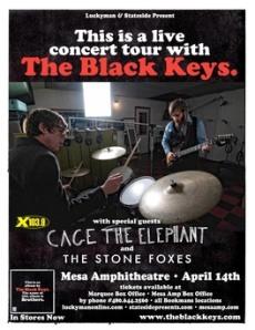 The Black Keys at Mesa Amphitheatre 4-14-2011