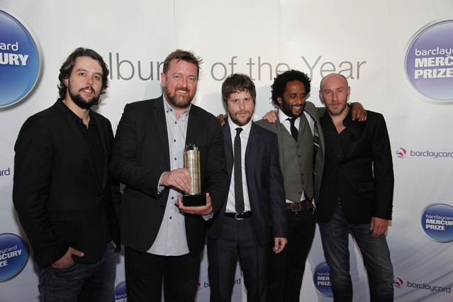 Elbow at the 2011 Mercury Awards