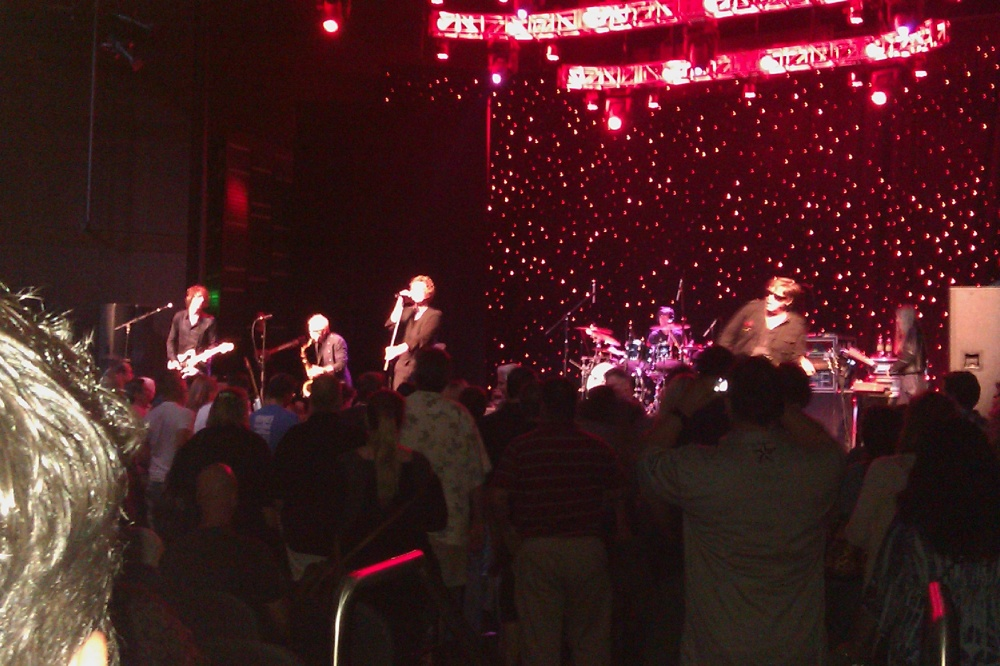 Psychedelic Furs at Talking Stick 9-16-2011