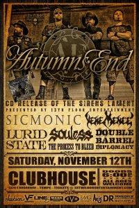 Autumn's End CD Release Show 11-12-2011