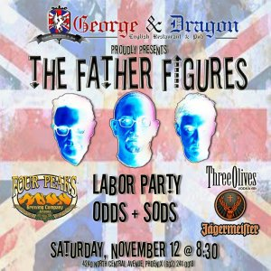 The Father Figures and Labor Party at the George and Dragon 11-12-2011
