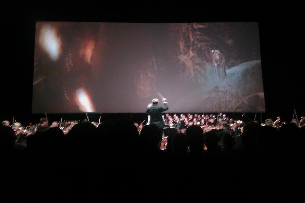 Fellowship of the Ring live 10-12-2011 - favorite scene from the movie and favorite piece of the score, Khazad-Dum