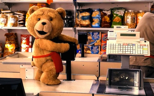 "The movie ""Ted"""