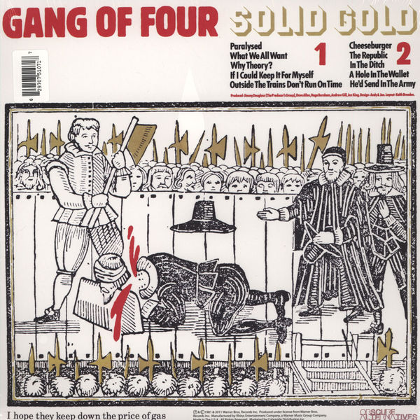 Gang of Four - Solid Gold