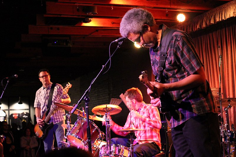 Father Figures open for X at the Crescent Ballroom December 2012