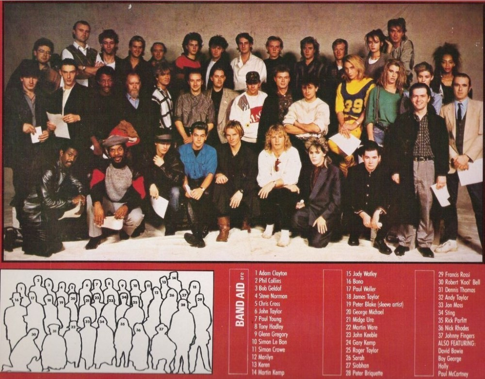 "Band Aid - ""Do They Know it's Christmas"""