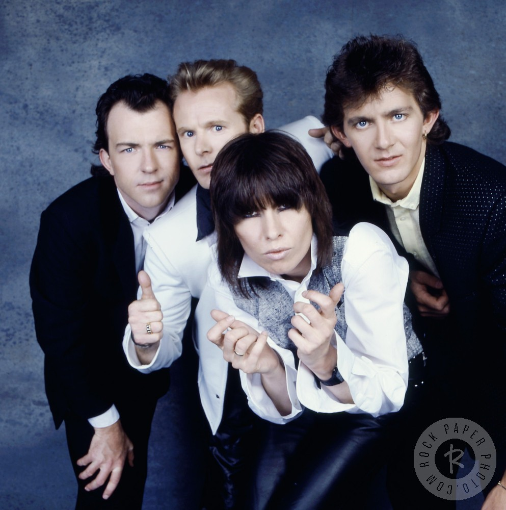 The Pretenders - Learning to Crawl lineup